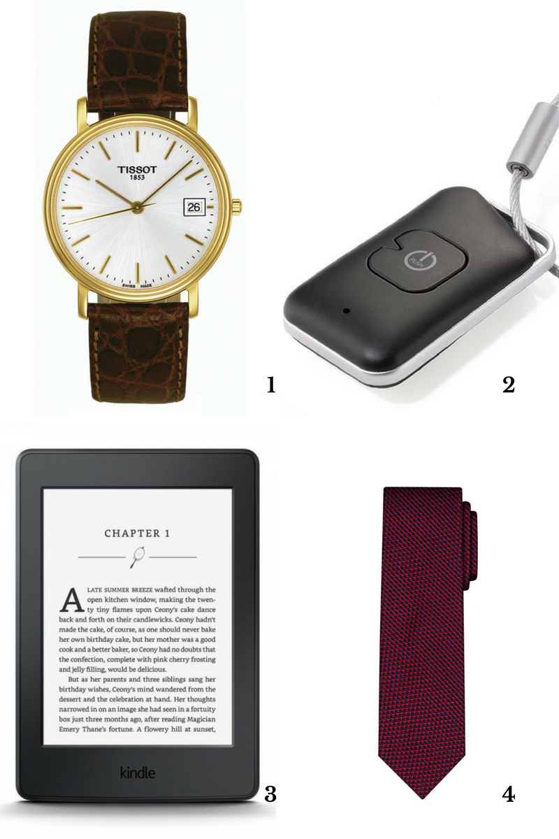 prezent dla niego zegarek brelok kindle krawat
