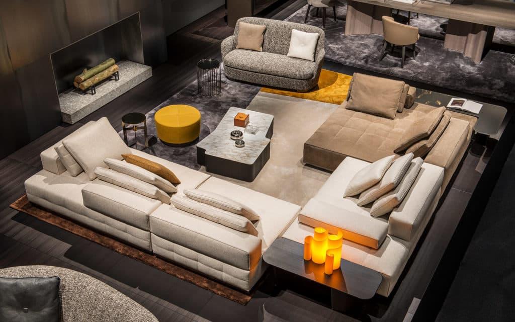 meble minotti luksusowa kanapa