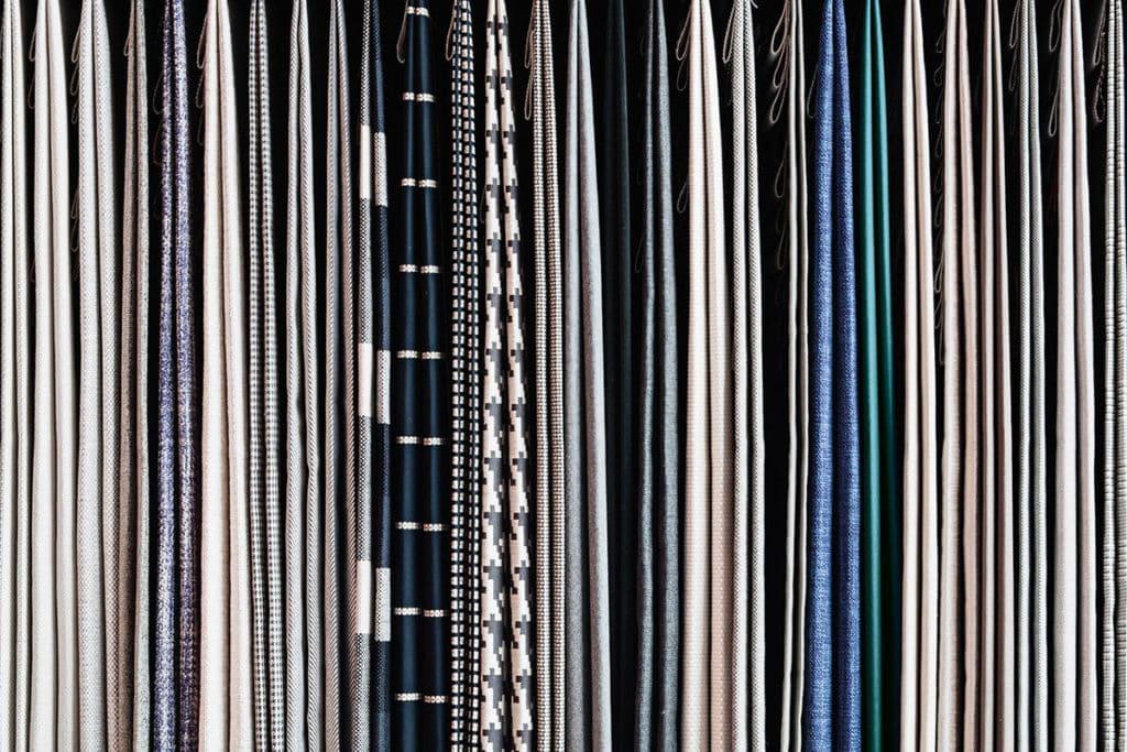 meble minotti tekstylia tkaniny