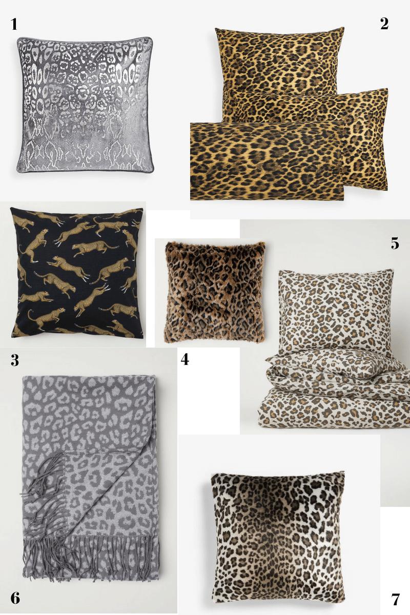 motyw zwierzęcy na pościeli cętki gepard