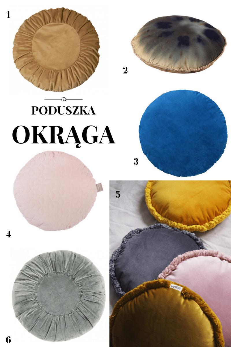 okrągła poduszka dekoracyjna ikea homla pakamera okrągła poduszka gdzie kupić