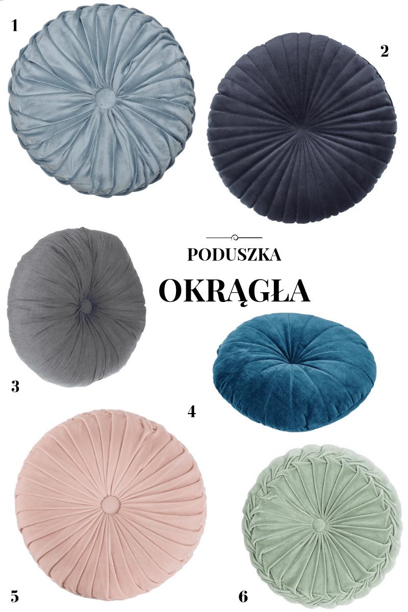 okrągła poduszka dekoracyjna jysk homla okrągła poduszka gdzie kupić