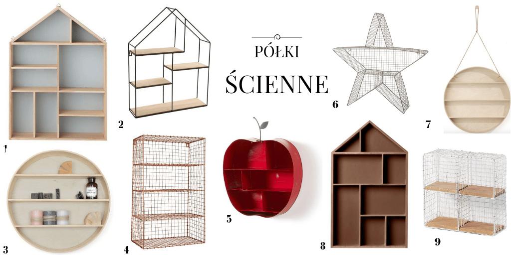 Półki ścienne Dekoracyjne Gdzie Kupić Make It Design