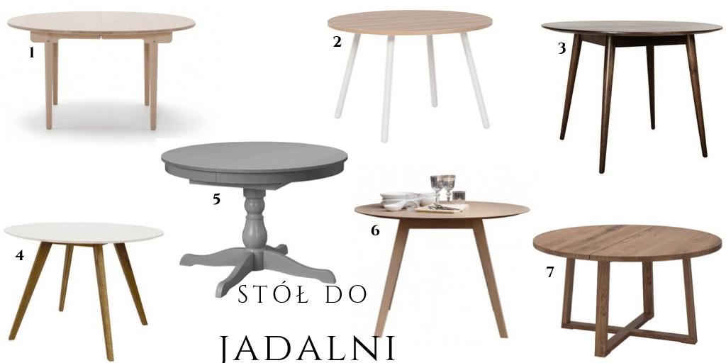 prosty stół okrągły