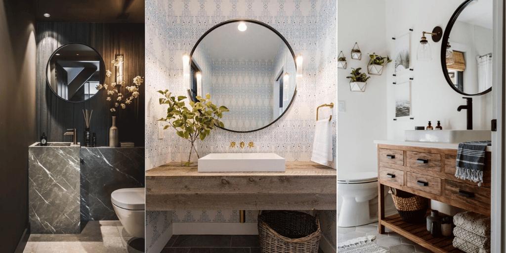 jak dopasować lustro w łazience